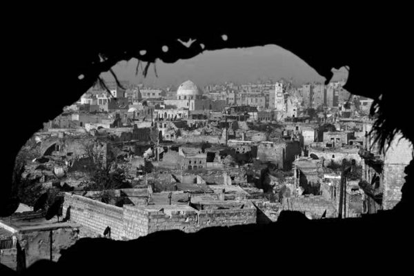 Post-War Syria Reconstruction, Politics, and Justice. Lecture. Nov 8th, 2018. Roberts Building G06 Sir Ambrose Fleming LT. Torrington Place. The Bartlett School of Architecture. UCL, London, UK