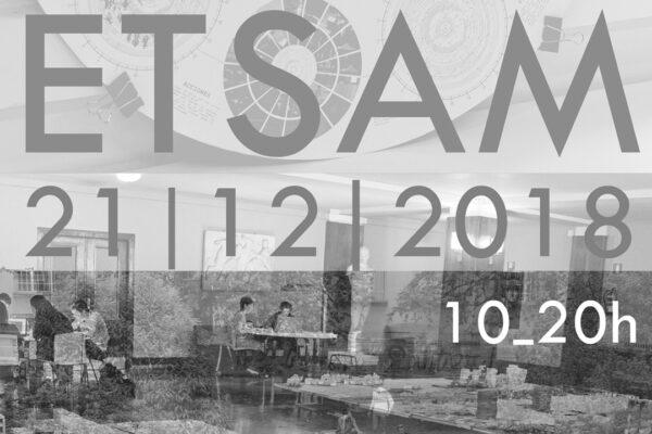 ETSAM Open Doors Student Works + Jury. Dec. 21st, 2018. Escuela Técnica Superior de Arquitectura de Madrid. ETSAM. Universidad Politécnica de Madrid. Spain.