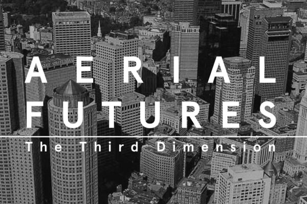 AERIAL FUTURES: The Third Dimension. Lecture. Apr 25th, 2019. GSD Gund Piper Auditorium. Graduate School of Design,  Harvard GSD, Boston, USA