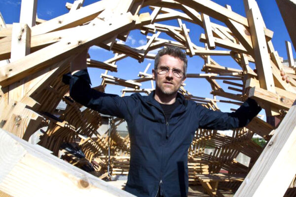 Carlo Ratti: The City of Tomorroy Today Lecture May 17 2019. Room K. Faculty of Architecture and the Built Environment. TUDelft